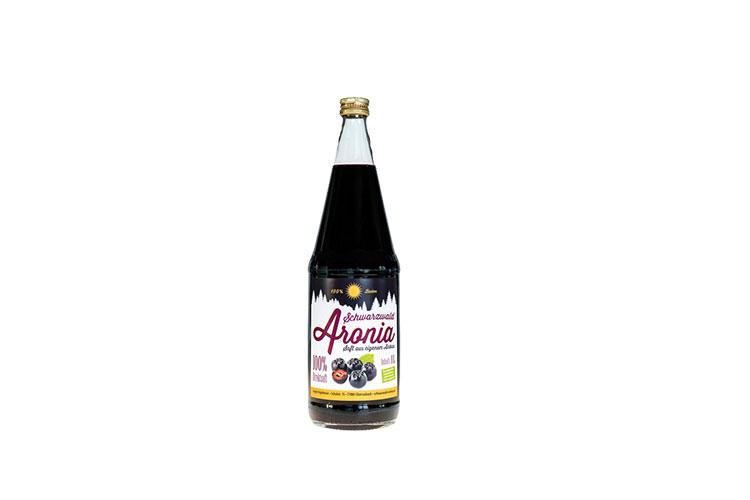 Aronia Einzelflasche 1 l inkl. Pfand
