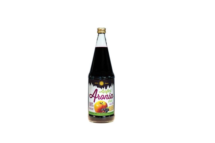 Apfel Aronia Mischsaft 1l inkl. Pfand